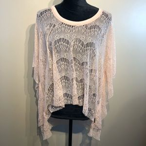 Billabong Lace Type Batwing Top Coverup